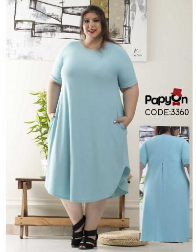 پیراهن پیراهن پاپیون - 3360